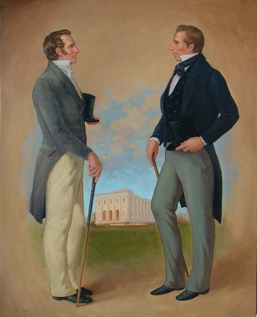 Joseph and Hyrum by Ken Corbett